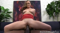 Monica Rise  makes it with a big Cock