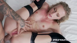 Perfect Blonde Can't Get Enough Anal